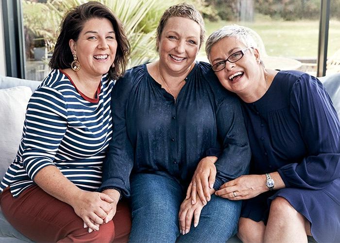 Sara, Suzanne and Paula