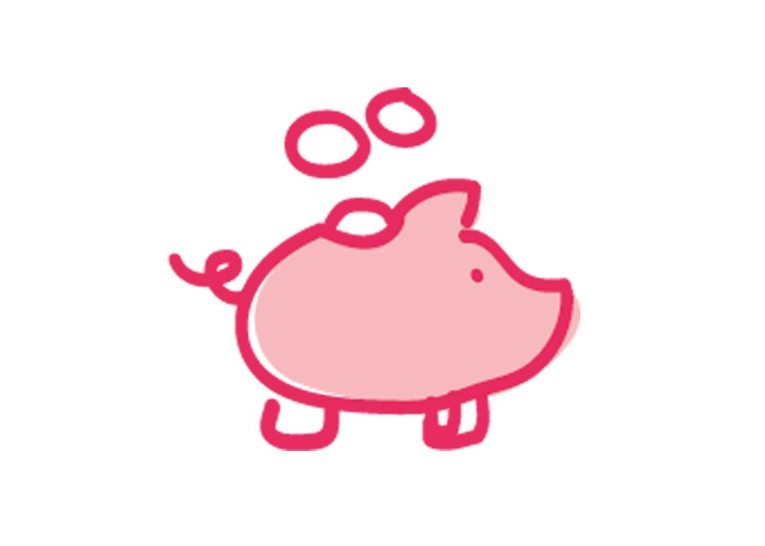 Save the pennies to fundraise at home