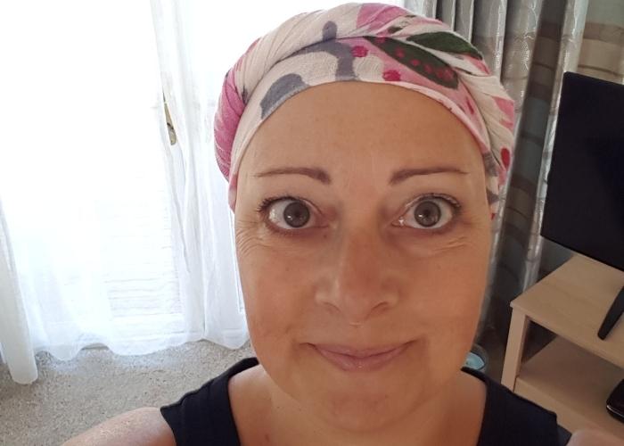 melanie during treatment
