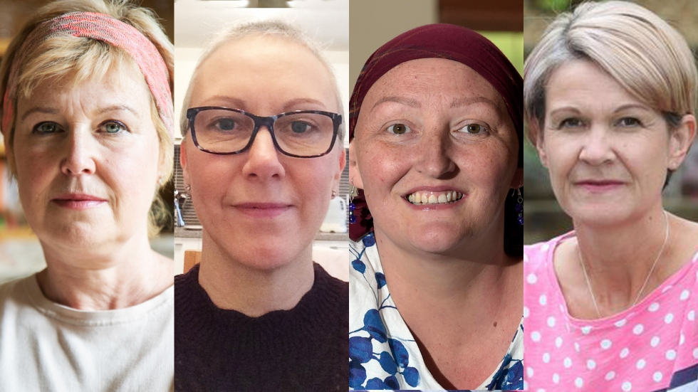 four of the women involved in our campaign