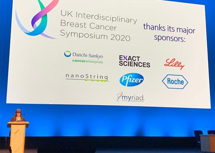 Baroness Delyth Morgan opens the UK Interdisciplinary Breast Cancer Symposium