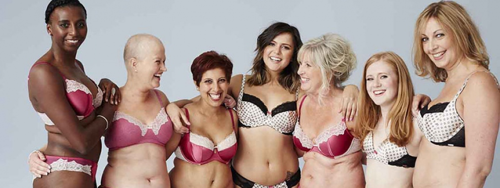 Meet The Real Women Behind The M S Lingerie Campaign Breast Cancer Now