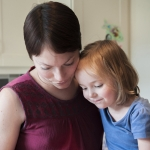Vicki, who has secondary breast cancer, and her daughter