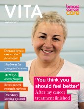 cover image of Vita magazine spring 2019 issue