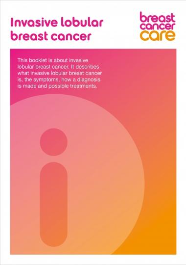 Invasive lobular breast cancer information booklet
