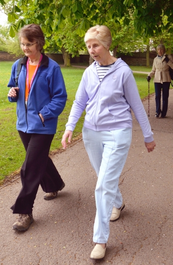 Walking groups for people with a breast cancer diagnosis   Breast