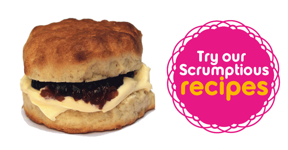 an animated image of a scone being created