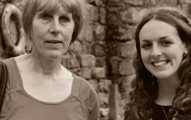 Becca and her mum