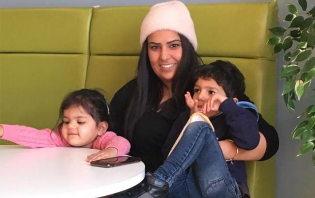 Kiren and her family