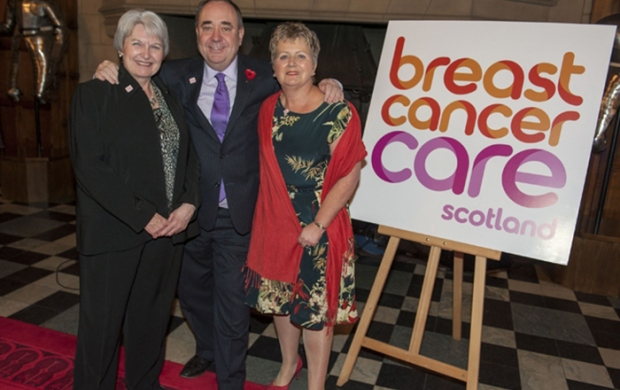 Breast Cancer Awareness Month reception at Edinburgh Castle