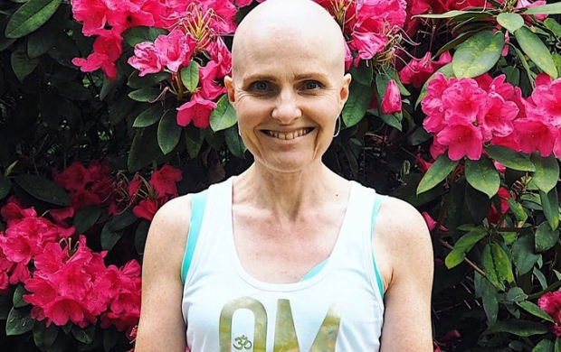 Patricia shaved her head before chemotherapy