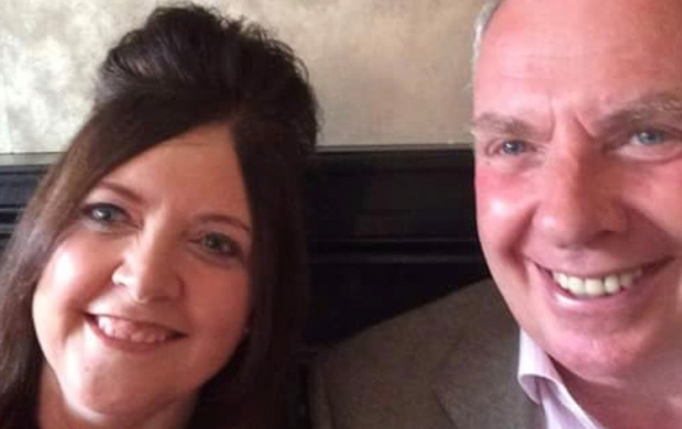 Dennis Perkins and his daughter Sarah