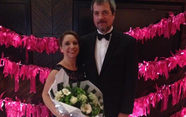 Sharon and her husband