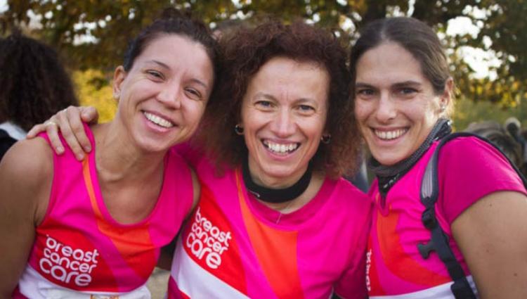 Women at marathon