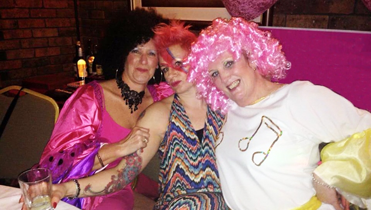Cathie held an event for Breast Cancer Care