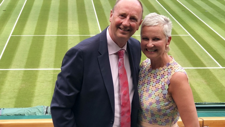 Jonathan Agnew MBE DL. BBC cricket correspondent & equestrian radio commentator