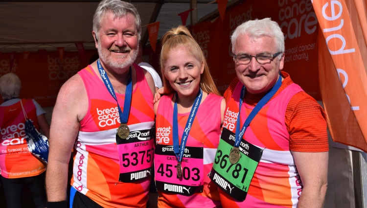 Sign up for the Great North Run