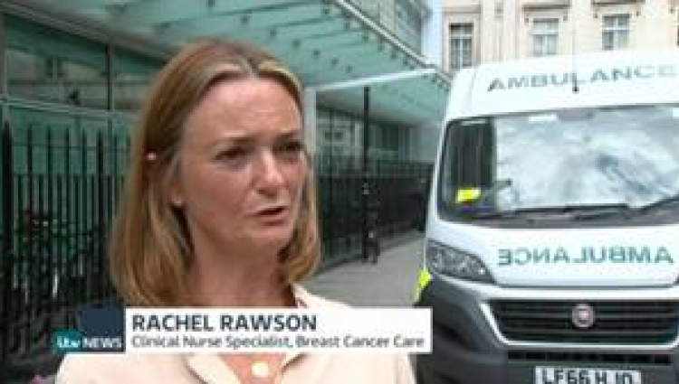Rachel Rawson on the news