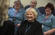 Nurses attending a workshop