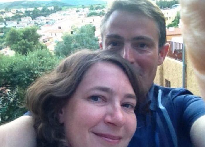 Diana and her husband