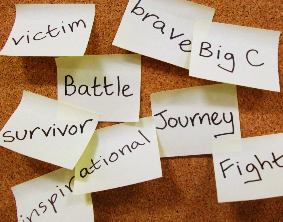 collection of words used to describe breast cancer