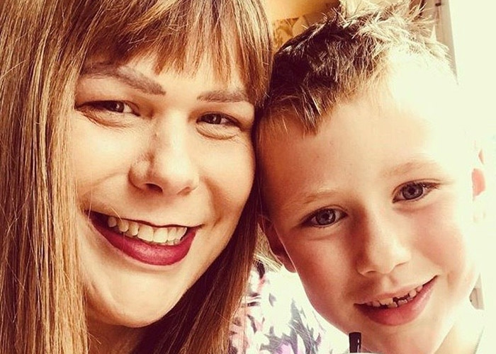 Emma and her son