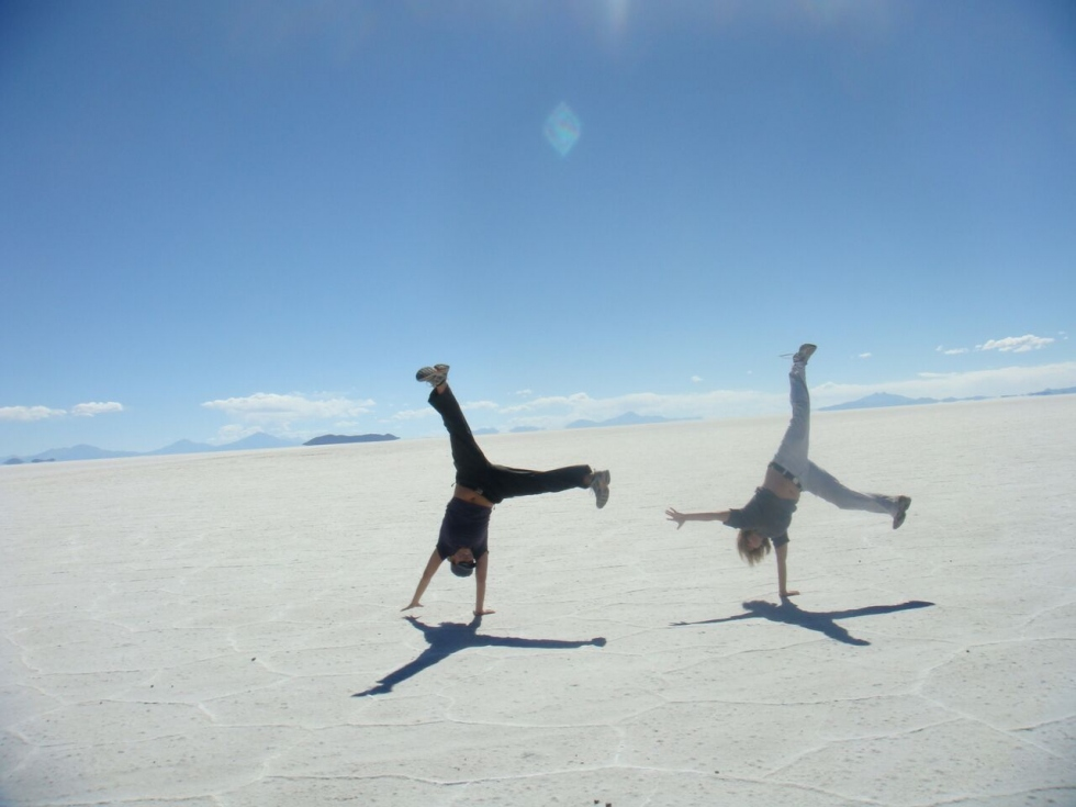Ruth and Nic in Bolivia