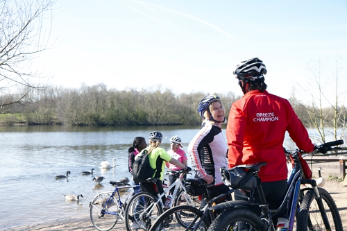 Find a route with Breeze and British Cycling