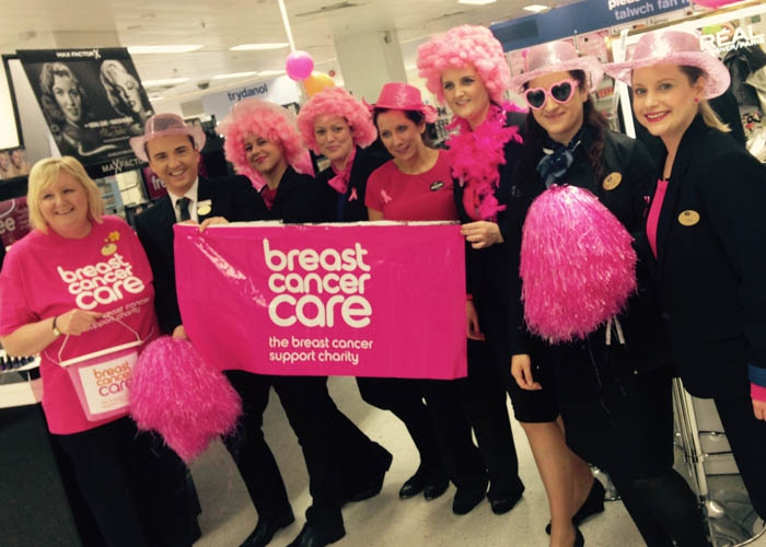 Breast Cancer Care fundraisers