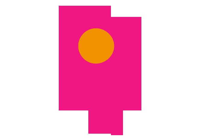 A rosette icon