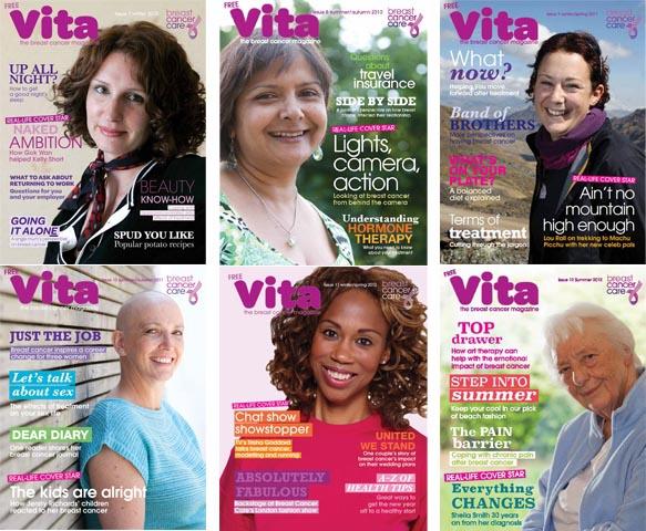 Vita magazine issues 7 to 12