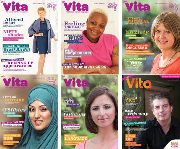Vita magazine issues 13 to 19