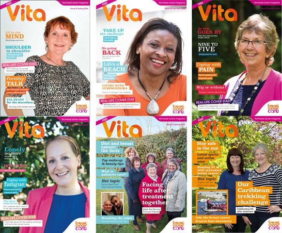 Vita magazine issues 19 to 24