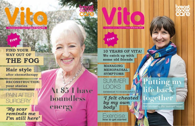 Vita magazine Spring and Summer 2016 covers
