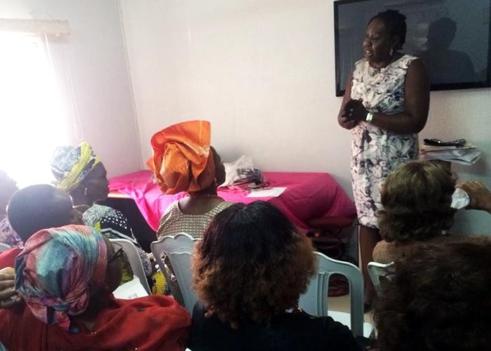 Della runs support groups in Nigeria