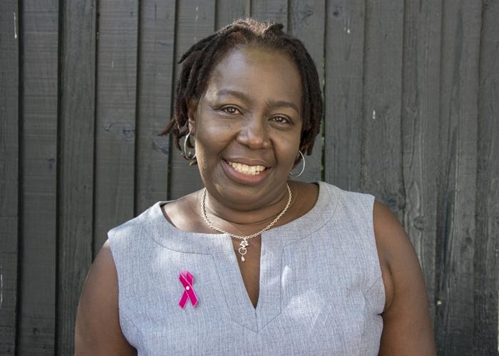 Ebony women breast