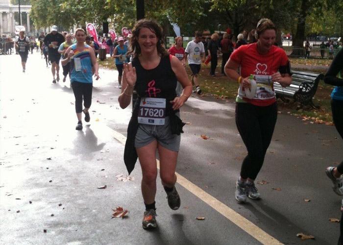 Diana on a run