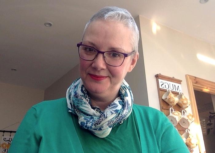 Helen after treatment