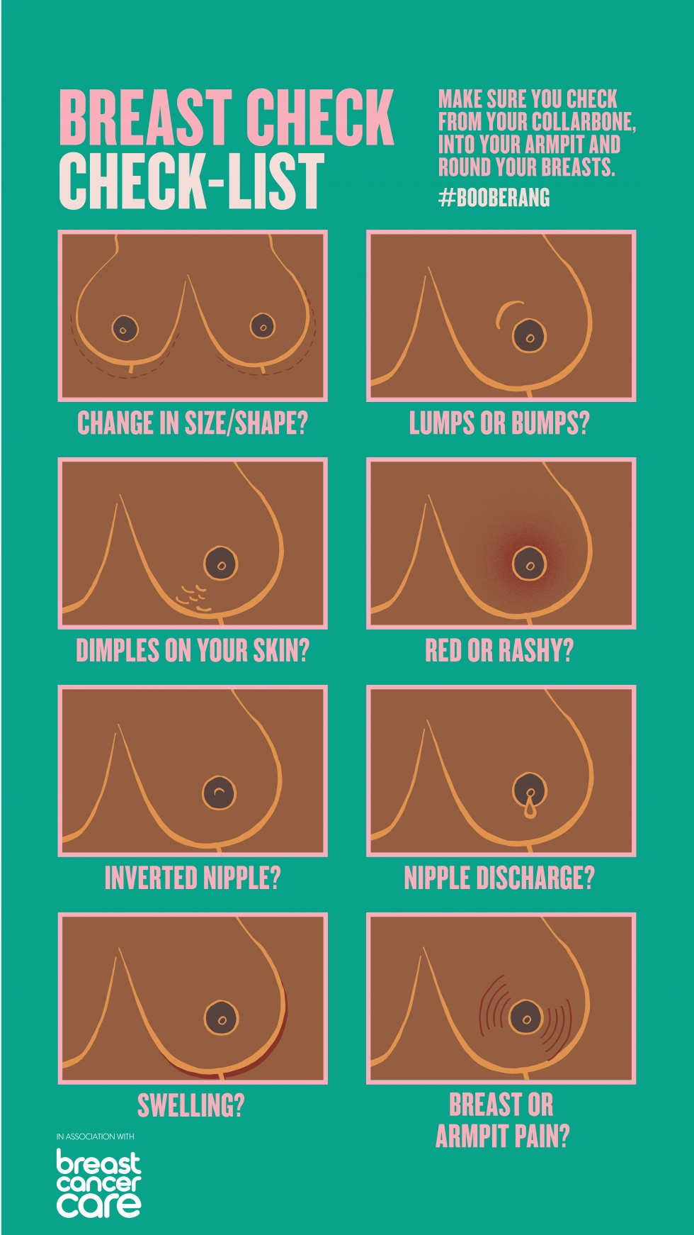 11 times when your breasts are trying to tell you something