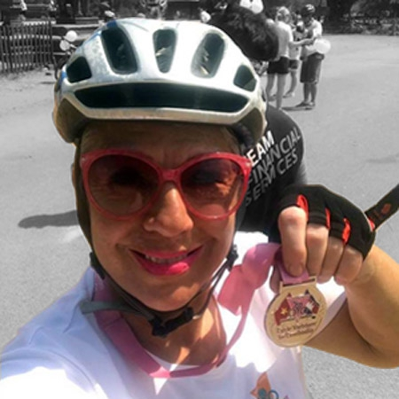 Join Nadjie on the Pink Ribbon Tour