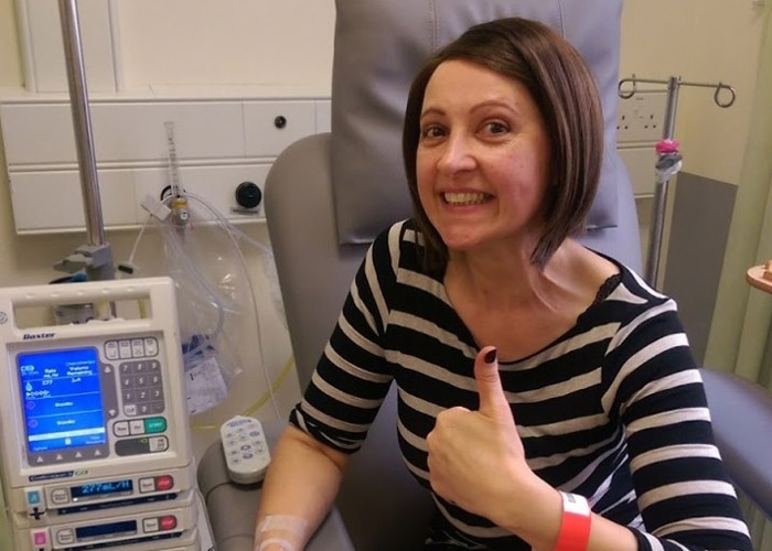 Nikki wrote a blog after treatment