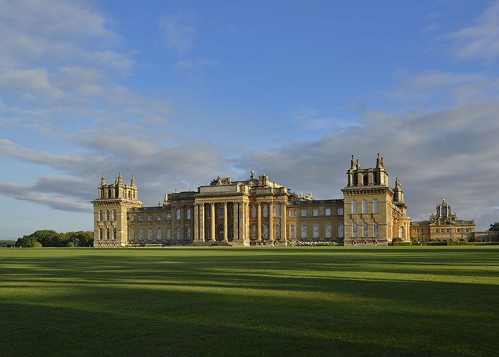 Blenheim Palace charity walk