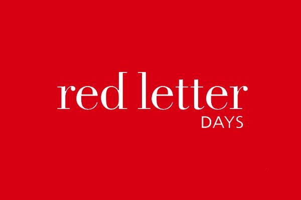 Red Letterdays Logo