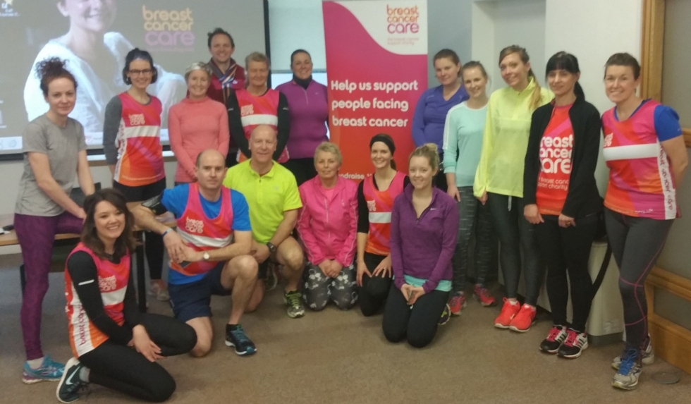 breast cancer care running group