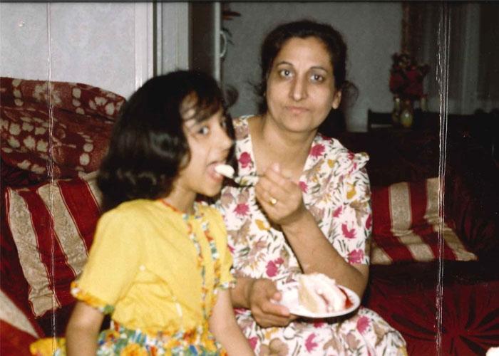 Sonia and her mum