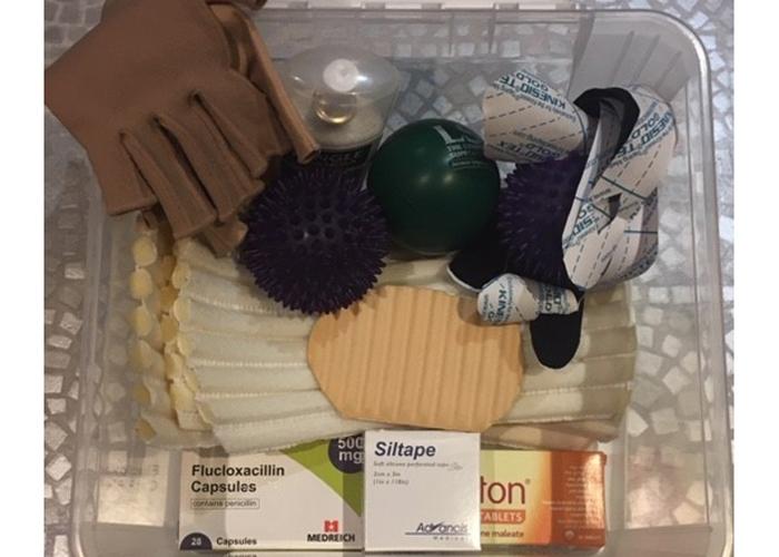 Tamsin's box of lymphoedema tricks