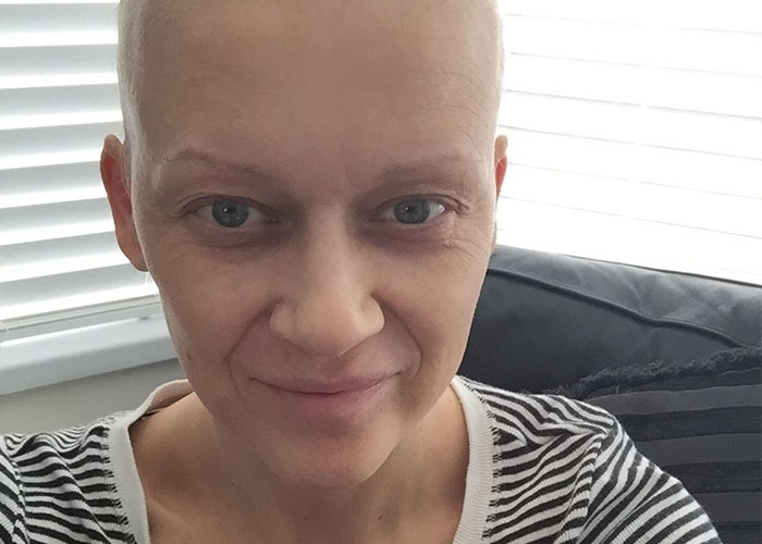 Toria took photographs during her cancer treatment