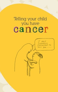 Telling your child you have cancer comic front cover