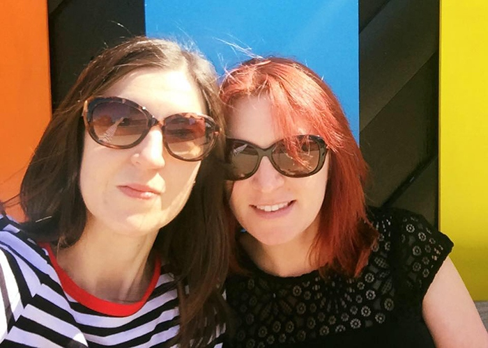 Julia and her wife