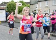 Edinburgh Marathon Festival 10k runner